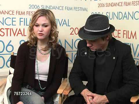 Julia Stiles and Jeremy Renner at the 2006 Sundance Film Festival 3