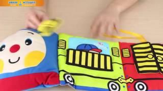 Развивающая игрушка-бортик в кроватку «Паровозик Чух-Чух», Ks Kids(, 2016-01-29T05:57:21.000Z)