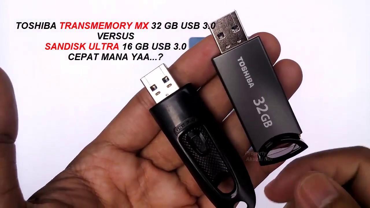 Review Flashdisk Toshiba Transmemory Mx 32 Gb Usb 30 Youtube Flasdisk 32gb