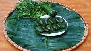 Cách làm bánh ngải cứu món bánh ngon nổi tiếng của người Tày nhu the nao