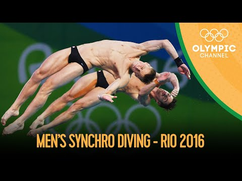 Diving: Men's Synch 10m Platform - Full Competition | Rio 2016 Replays