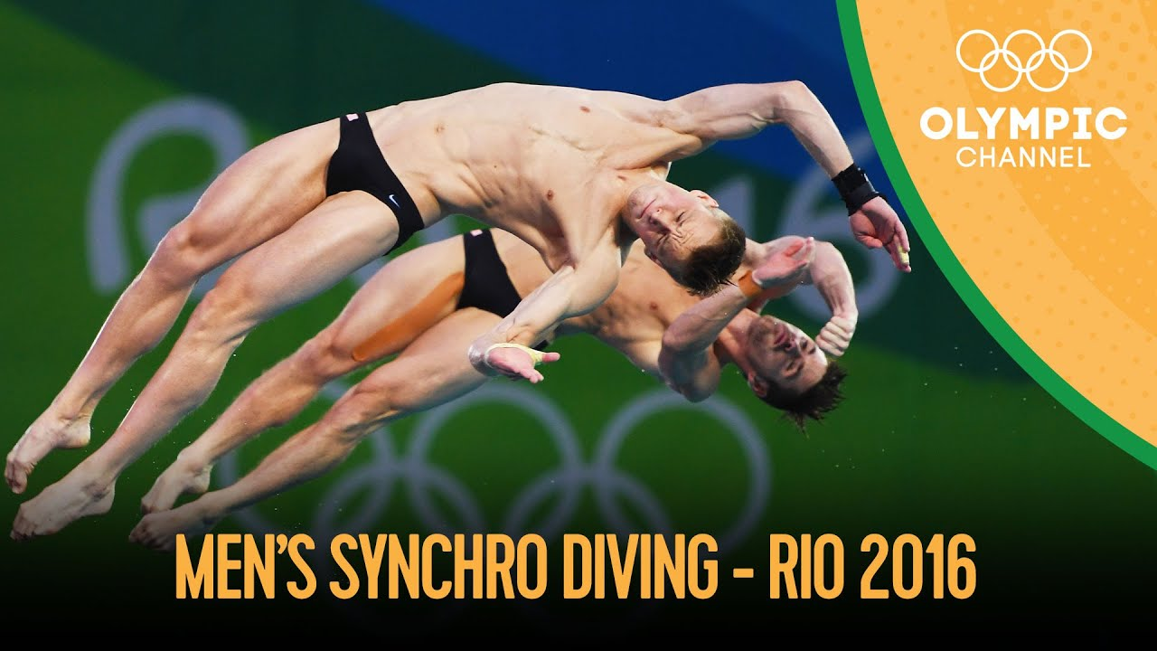 Download Diving: Men's Synch 10m Platform - Full Competition | Rio 2016 Replays