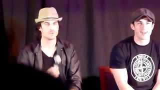 Ian Somerhalder dance, during the Mystic Love convention