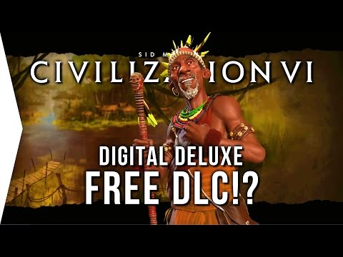 Civilization VI ► Digital Deluxe FREE DLC But... [Africa & Southeast Asia in Civ 6]
