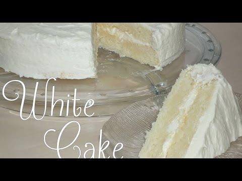 White Cake (beliebter amerikanischer Kuchen/Torte)