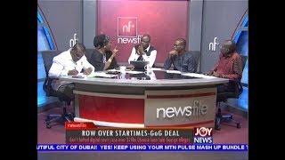 Row over StarTimes-GoG Deal - Newsfile on JoyNews (22-9-18)