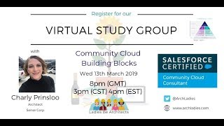Community Building Blocks with Charly Prinsloo