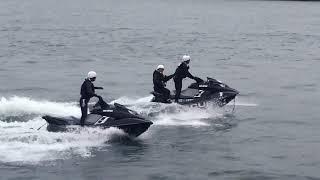 海上保安庁海猿による「水上バイクレスキュー」 東京湾大感謝祭2017 thumbnail