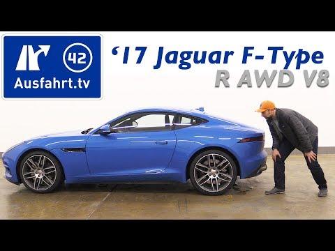 2017 Jaguar F-Type R AWD Coupé 5.0 Liter V8 Kompressor - Kaufberatung, Test, Review
