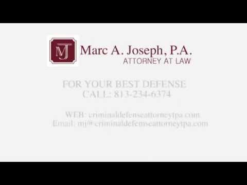http://CriminalDefenseAttorneyTPA.com - Criminal Defense Attorney Tampa, FL.    Tampa defense attorney Marc A. Joseph, P.A. has defended thousands and prosecuted none. Unlike former prosecutors, Marc Joseph has never put anyone...