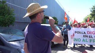 Manifestación convocada en el sector agrario