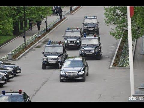 總統也會遇到堵車?看普京車隊是怎麽應對的