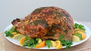 Citrus Turkey Brine (using Wish-bone Italian Dressing)