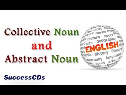 Collective Noun and Abstract Noun | Learn English Online