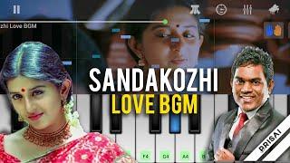 Sandakozhi Love BGM - Keyboard | Yuvan Shankar Raja, Meera Jasmine, Vishal | Perfect Piano | PRISAI