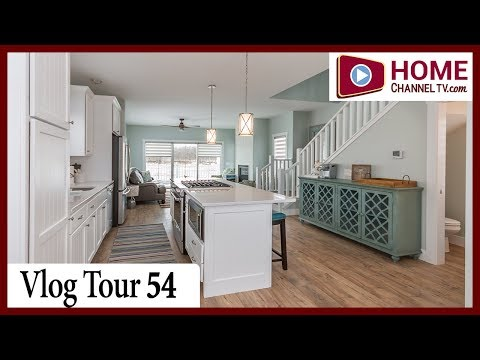 Home Tour Vlog 54 - Tiny House Villa on the Waterfront at Heritage Harbor Ottawa