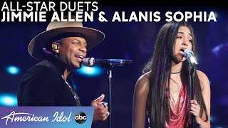 "A Star Is Born! Alanis Sophia's ""Alive"" Solo + ""Shallow"" Duet With Jimmie Allen - American Idol 2021"