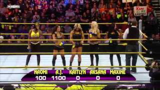 WWE NXT 12/10/2010 - Rookie Diva Name The Entrance Theme Challenge