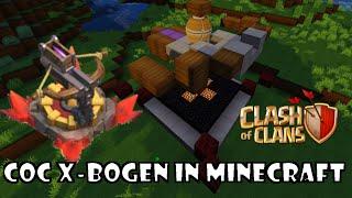 Clash of Clans Funktionierender X Bogen Minecraft