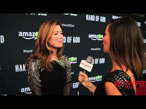 "Dana Delany at the Premiere of Amazon's ""Hand of God"" #HandofGod #AmazonPrime"