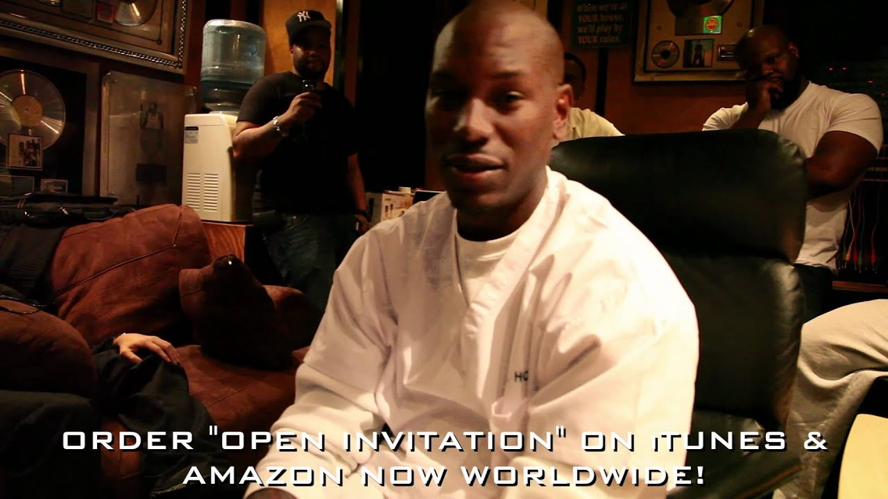 Tyrese presents The Making of OPEN INVITATION Part 2 of 2