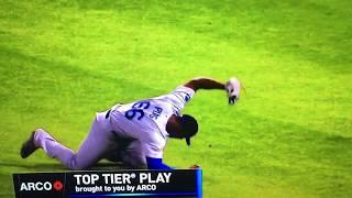 Puig Diving Catch Vs White Sox