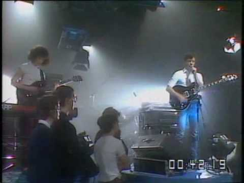New Order - Ceremony, live at Celebration 1981