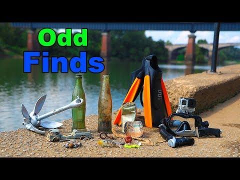 River Treasure: Odd Finds In River... (strange)