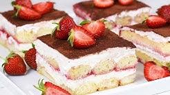 Bestes Erdbeer Tiramisu Rezept