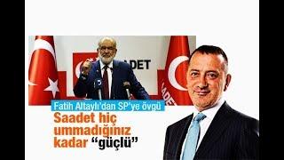 Fatih Altaylı    Saadet'siz ittifak