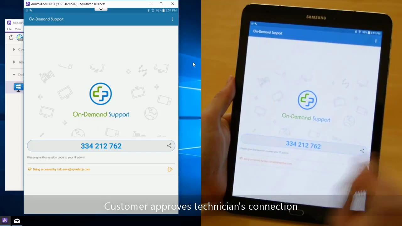 Remote Access, View and Control Android Phones and Tablets