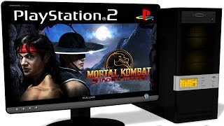 PCSX2 1.5.0 PS2 Emulator - Mortal Kombat: Shaolin Monks (2005). Gameplay. Test run on PC #1