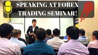 FOREX TRADING SEMINAR | Forex Trader Karen Foo