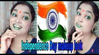 Independence Day makeup look ll mom beauty shalu ll 2018