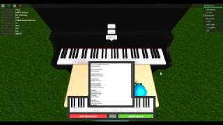 Roblox piano | How to play say something