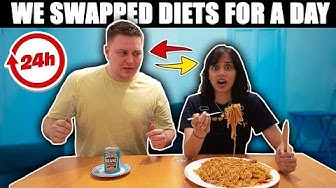 Swapping Diets With ClickForTaz For 24 hours