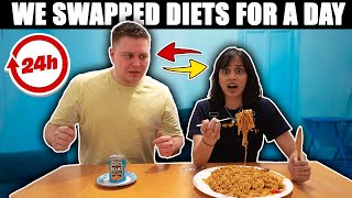 We swapped diets for 24 hours (ft ClickForTaz)