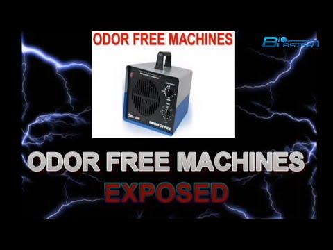 ODOR FREE MACHINES OZONE GENERATOR REVIEWS