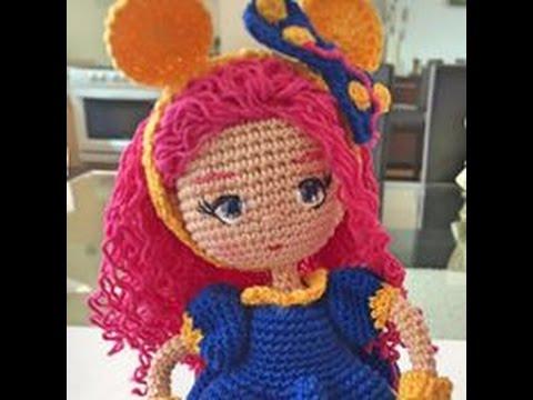 Como bordar ojos muñeca Valentina amigurumi By Petus (6 7) SEXTA PARTE 058f994b2c5