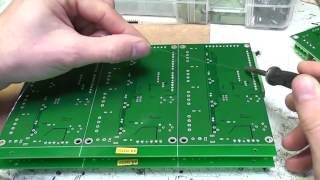 Simple jig for soldering small pin-headers