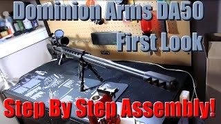Dominion Arms DA50 Build Cheap 50 BMG