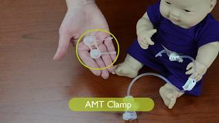 AMT Clamp with ENFit Connectors