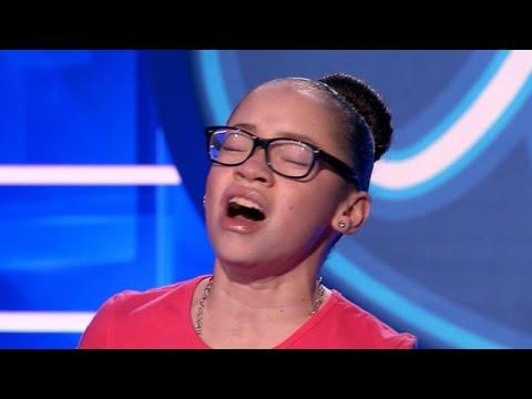 Stacey verbluft jury met dijk van een stem - IDOLS