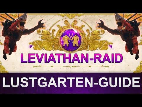 Destiny 2 Leviathan-Raid: Lustgarten Guide (Deutsch/German)