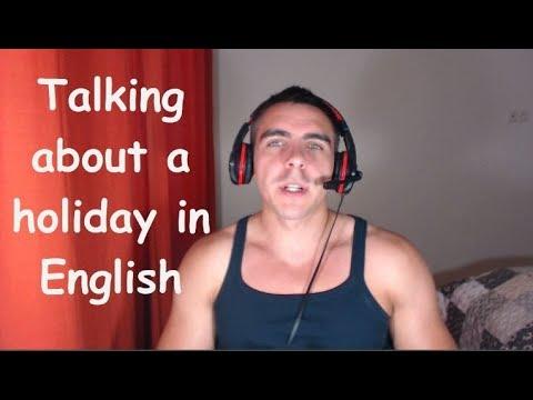 Про отпуск на английском языке (A1)