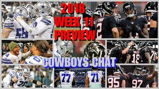 2018 WEEK 11 FULL GAME PREVIEW SIM: Dallas Cowboys @ Atlanta Falcons (MADDEN 19) + COWBOYS CHAT!!! thumbnail