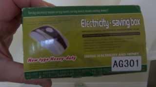 видео Устройства экономии электроэнергии, работают или нет ?