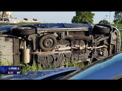 Arlington car wreck rescue