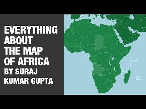 africa map upsc