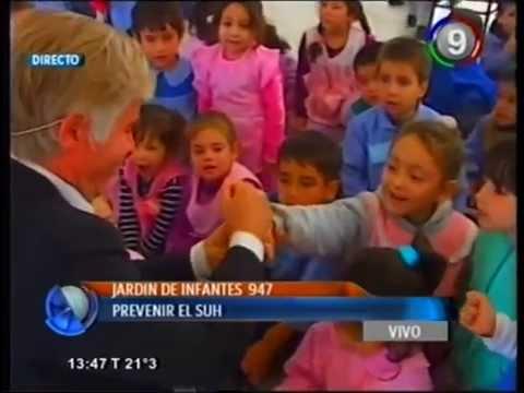 Canal 9 Bahía Blanca   Movil en VIVO   Jardin 947 prevenir el SUH